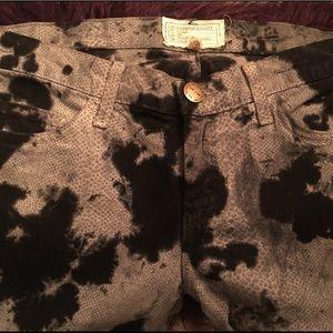 Current Elliot Smokestack Python Jeans